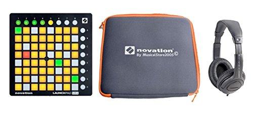 NOVATION DJ PACK Launchpad Mini MKII / Custodia / Cuffie Stereo