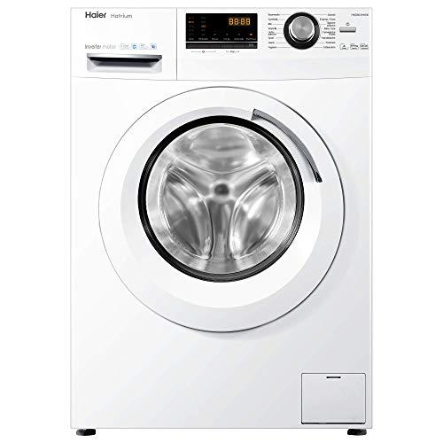 Haier HWD80-B14636 Waschtrockner / A / 1080 kWh/Jahr /1400 UpM / 8 kg Waschen / 5kg Trocken / Endzeitvorwahl / AquaProtect