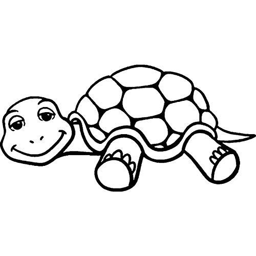 Azeeda A8 'Schläfrige Schildkröte' Stempel (Unmontiert) (RS00027400)
