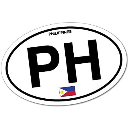 Pinoy Philippines Filipino Sticker Flag Bumper Water Proof Vinyl Auto
