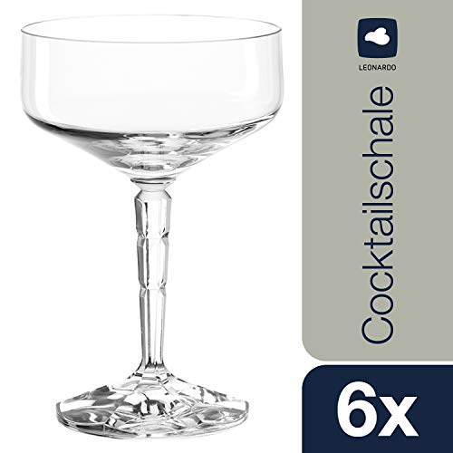 Coffret 6 coupes à champagne Spiritii, Léonardo