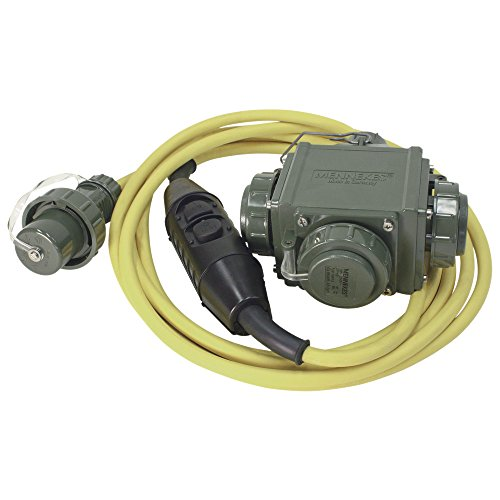 Dönges Distribuidor triple con interruptor de protección personal, PRCD-S+, IP55.