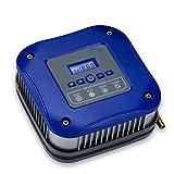 PLHMS Inflador de neumáticos portátil Digital, Bomba de compresor de Aire DC 12V, 100 PSI, con Cable Largo y Linterna LED de Emergencia, para automóviles, Motocicletas, Bicicletas