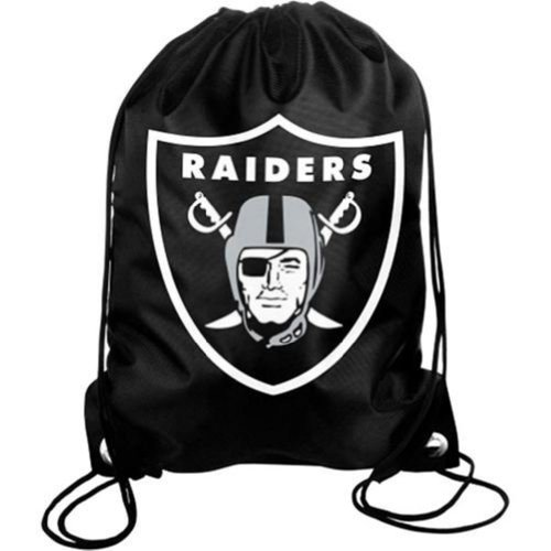 NFL Oakland Raiders Drawstring Backpack