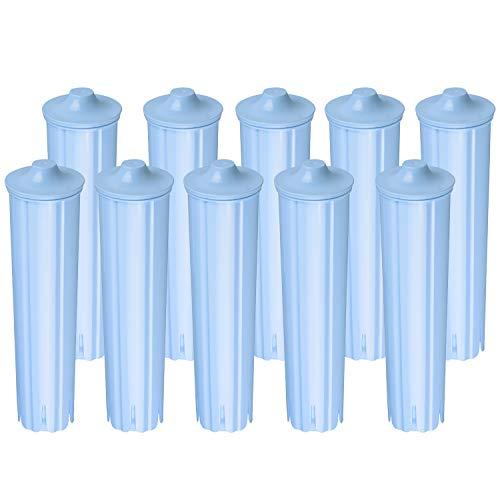 10 x Wasserfilter kompatibel mit Jura Claris Blue Filterpatronen IMPRESSA ENA Micro GIGA Filter