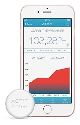 Price comparison product image ActivAngel Smart Thermometer - The fast,  non-intrusive way to take and monitor temperature.