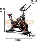 SPINBIKE AERO SPIN 6 | Spinning bike con volano da 6 kg | Bicicletta per allenamento a cas...