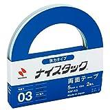 ニチバン 両面テープ ナイスタック 強力タイプ 2巻マキ 5mm×18m NW-K5