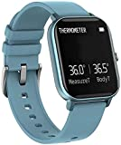 Panduo YLB Smart Watch 1 4 pulgadas Smart Full Touch pantalla a color de alta definición IP67 impermeable información push Bluetooth multifunción deportes (color: azul)