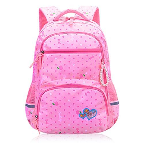 wasserdichte Schulrucksäcke Für Jugendliche Kinderrucksack Primary Ergonomic Backpack Primary School Bag Für Mädchen, Blau
