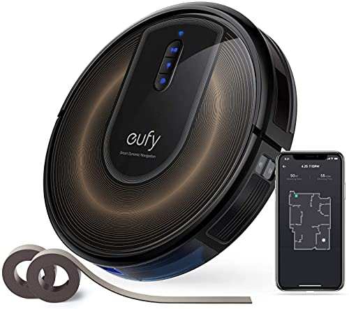 eufy RoboVac G30 Edge, Robot Vacuum with Smart Dynamic Navigation 2.0, Robot Vacuum Cleaner丨eufy RoboVac Extra Boundary Strip Pack, Compatible with 30C, 30C MAX, 30,G30 Edge, G30 Hybrid Pet Edition