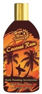 Coconut Rum Dark Tanning Accelerator lotion