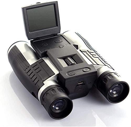 WXDP Telescopio ad Alta Potenza,Binocolo 12x32mm, Fotocamera binoculare con Digitale 1080p con Fotocamera Digitale incorporata