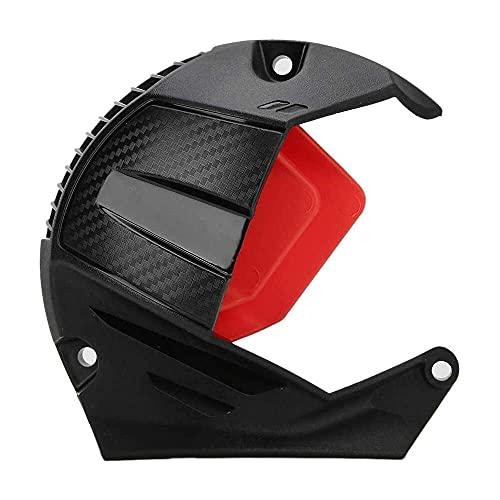 qinjun Cubierta del ventilador de refrigeración ABS modificado motocicleta ventilador protector cubierta de la decoración de la motocicleta accesorios decoración ajuste para BWS R