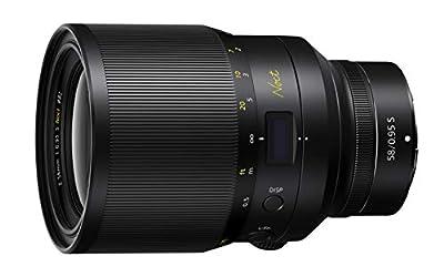 NIKON NIKKOR Z 58mm f/0.95 S Noct Ultra-Shallow Depth of Field Prime Lens for Nikon Z Mirrorless Cameras from Nikon