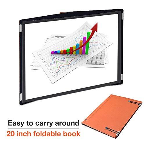 20 - Zoll - tragbare Outdoor - Lern - Unterhaltungsfilm - Tischleinwand Mini - tragbare DLP - Projektionsleinwand für Besprechungsbüro - Werbung