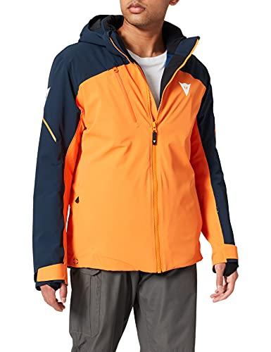 Dainese Hp1m3 Chaqueta de esquí para Hombre, Invierno, Hombre, Color Russet-Orange/Schwarz-Iris, tamaño Extra-Large