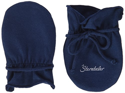 Sterntaler Kratzfäustel Jersey für Babys, Alter: 0-6 Monate, Größe: 0, Marineblau