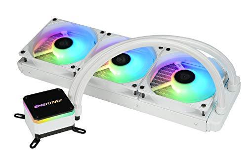 Enermax LiqMax III ARGB 360 - Ventilador de refrigeración por agua para procesadores Intel/AMD, ARGB (ELC-LMT360-W-ARGB)