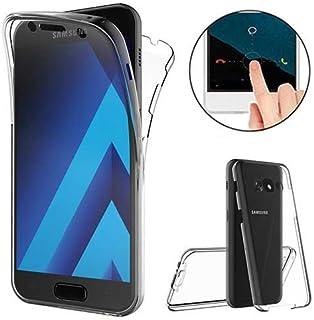 XCYYOO Coque pour Samsung Galaxy A5 2017 Intégrale Avant et Arrière 360 Degrés Étui de Protection,[Avant + Arrière] Transp...