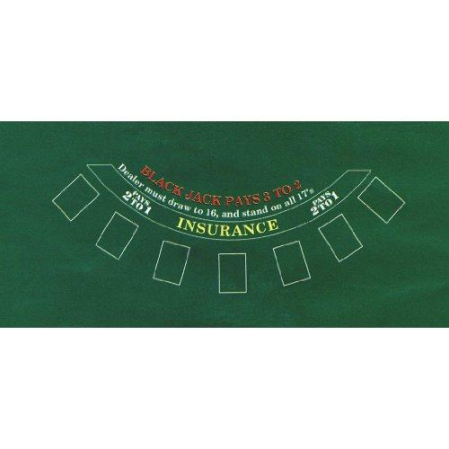 amscan Casino Jeu Blackjack Feutre Table Housses