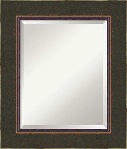 Amanti Art Framed Mirrors for Wall | Milano Bronze Mirror for Wall -