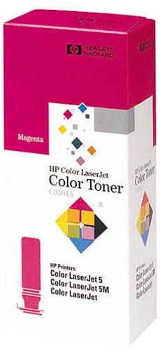 HP C3104A tonerfles, magenta (ca. 3000 pagina's bij 5% dekking).