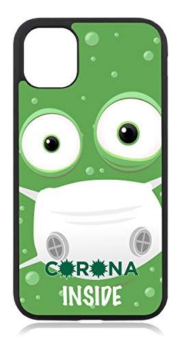 aina Kompatibel mit iPhone 8 Silikon Handyhülle Flexibles Slim Case Cover Corona Virus Spruch