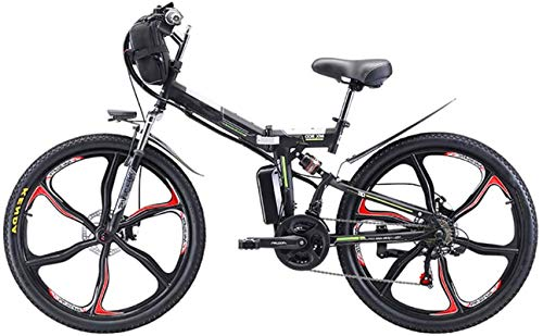 Bicicletas Eléctricas, 26 '' Bicicleta eléctrica plegable de montaña, bicicleta eléctrica de...