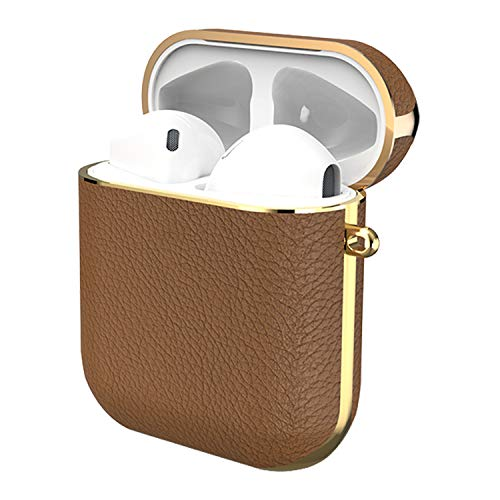 GAZE Leather AirPods ケース 第1/2世代に適用 ケース カバー Apple エアーポッズ/エアーポッド エアーポッ...