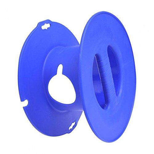 Camping Hand kabelhaspel blauw voor CEE verlengkabel max. 30 meter (1,5 mm2)