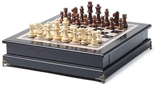 SOAR Schachspiel Große Schach Kinder 'S High-End Massivholz Schach Erwachsene Spiel Spezielle Ornamente Dekorative Fenstertisch Praktisch