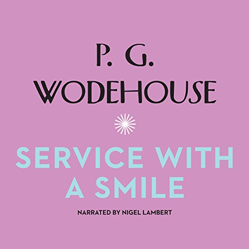 Service with a Smile audiobook cover art
