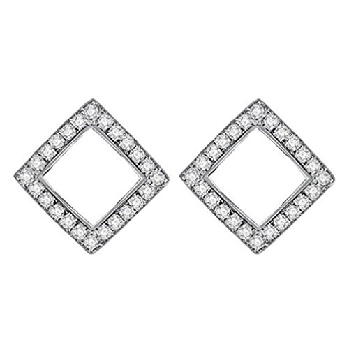 Oorbellen dames meisjes oorstekers 925 sterling zilver met zirkonia glitter hart sterren studs spike party oorsieraad hypoallergeen voor vrouwen vriendin (plek)