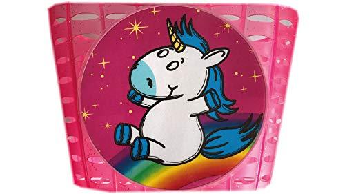 Diverse Unisex– Erwachsene Lenkerkorb-2327229200 Lenkerkorb, pink, One Size