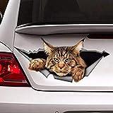 Autoaufkleber - große Katze thumbnail