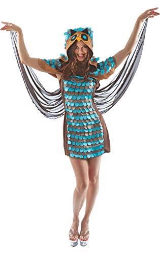 ORION COSTUMES Eule Damenkostüm Karneval Verkleidung