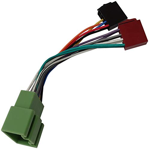 AERZETIX - Adattatore cavo fascio - Spina ISO - Per autoradio - C10863