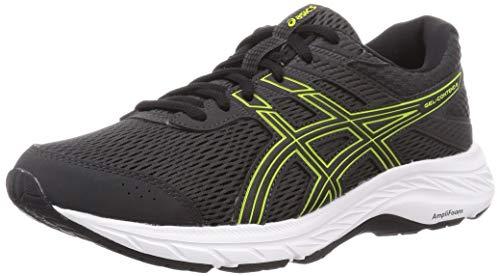 ASICS 1011A667-022_41,5, Zapatillas de Running Hombre, Gris Oscuro, Verde Lima, 41.5 EU