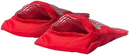 حقيبة بطاطا مخبوزة في الميكروويف وقابلة لإعادة الاستخدام من مجموعة بطاطا اكسبرس قابلة للغسل من 2، حقيبة الميكروويف فرن طبخ...