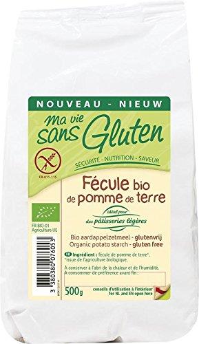 Ma Vie Sans gluten - BIO - Fécule de Pomme de Terre 0.5 kg 1 Unité