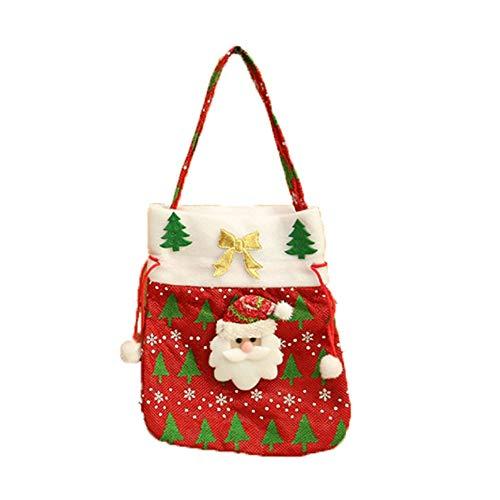 Christmas Storage Christmas Candy Bag Santa Claus Snowmen Gift Children Party Storage Home & Garden Housekeeping & Organizers Christmas for Faclot