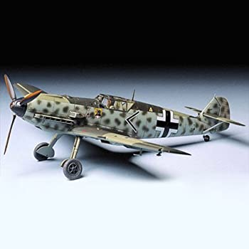 タミヤ 1/48 傑作機シリーズ No.50 ドイツ空軍 メッサーシュミット Bf109E-3 プラモデル 61050