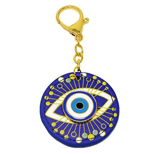 Feng Shui Evil Eye Anti-Jealousy Amulet Keychain W4142