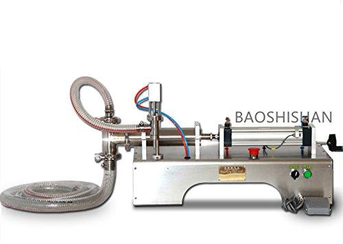 G1WY Pneumatische Paste Kosmetik-Füllmaschine Creme-Shampoo Flüssigkeitsfüllmaschine 220V/220V (100-1000ml)