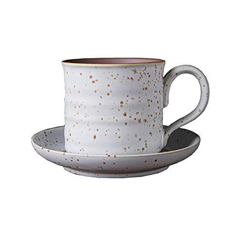 Copa de viento de estilo japonés Retro grueso cerámica de cerámica de leche Taza de café Taza de café Taza de cerámica cruda Taza