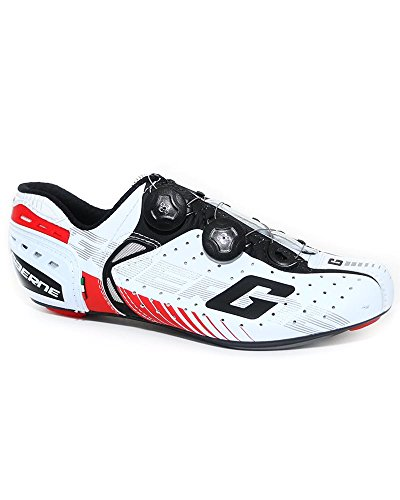 Gaerne Carbon Composite G.Chrono+ Zapatillas Road Ciclismo, Rojo - Blanco, 39
