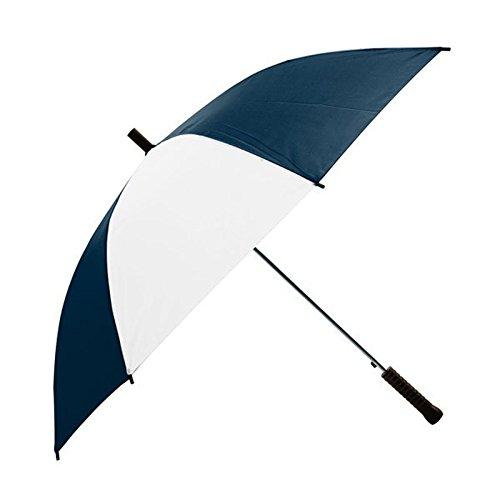 Custom Pathfinder Auto Open Umbrella- Umbrella (Navy/White) - 50 PCS - $10.28/EA - Promotional Product/Branded with Your Logo/Bulk/Wholesale
