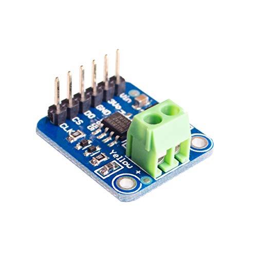 Lysignal K-Tipo de termopar MAX31855 Temperatura del módulo del sensor de termopar -200 ° C a +1350 ° C Interfaz SPI Temperatura de lectura digital directa