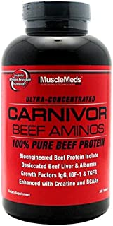 Musclemeds Carnivor Beef Aminos, 300 Tablets